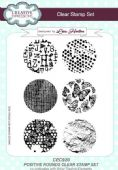 Creative Expressions - Positive Rounds A5 Clear Stamp Set - CEC920